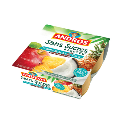 Pomme ananas coco Andros