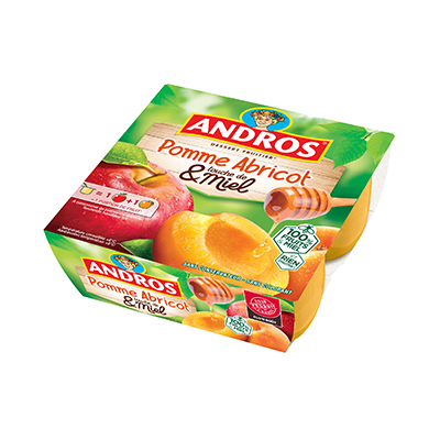 Pomme abricot miel Andros