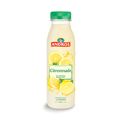 Citronnade 33cl Andros